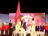 Đoàn thể thao Việt Nam gặp may tại lễ xuất quân