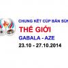 Chung kết Cúp bắn súng Thế giới – AZE 2014