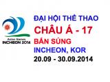 Bắn súng – Đại hội TDTT Châu Á – 2014