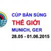 Cúp bắn súng Thế giới – Đức 2015
