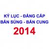 Công nhận Kỷ lục và đẳng cấp Bắn súng – Bắn cung 2014