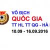 Vô địch bắn súng Quốc gia – TTHLTTQG HN – 2016