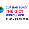 Cúp bắn súng Thế giới – MUNICH, GER 2016